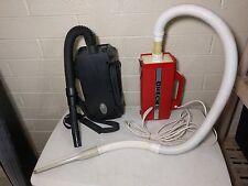Rare Orange Oreck Xl Canister Vacuum Cleaner + Bonus 2nd Black Oreck. Both Work