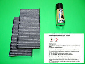 Pollenfilter mit Aktivkohle + Klimareiniger Mini Cooper III F54 F55 F56 F57 F60