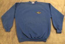 Vintage 90s Indianapolis Indy 500 Motor Speedway Logo XL Blue Sweatshirt VGUC