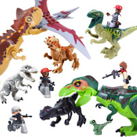 8 12,16,22 PCS TRex Full Size Dinosaur Figure Building Blocks Kid Park Jurassic