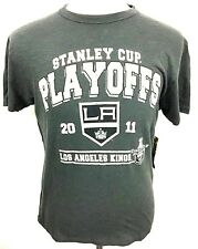 Los Angeles Kings 2011 Stanley Cup Playoffs Champions T Shirt NHL 47 Brand M10