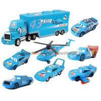 Disney Pixar Cars Lot Dinoco King Lightning McQueen 1:55 Diecast Model Toy Cars