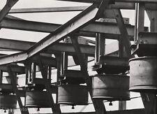 1928 Vintage INDUSTRIAL STEEL TRACK Metal Abstract Photo ~ ALBERT RENGER-PATZSCH