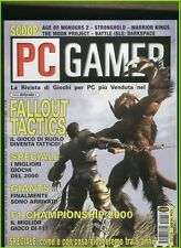 PC GAMER 62 2001age of wonders,stronghold,warrior kings,the moon project