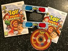 NINTENDO Wii GAME DISNEY PIXAR TOY STORY MANIA! PAL COMPLETE WITH 3D GLASSES