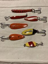 Wow! Custom Painted Refurbished Fishing Spoons!