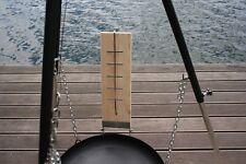 1 Stück 50 cm XXL Lachsflammbrett Lachs Brett Feuerlachs Flammlachsbrett Grill