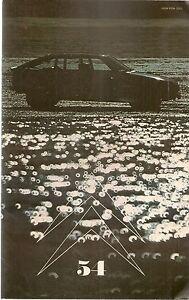 LE DOUBLE CHEVRON 54 1978 CITROEN FAF LNA VISA SM TOUR AUTOMOBILE DU SENEGAL