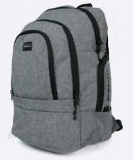 Quiksilver BACKPACK School Surf Travel Bag New - EQYBP03424 Black Grey