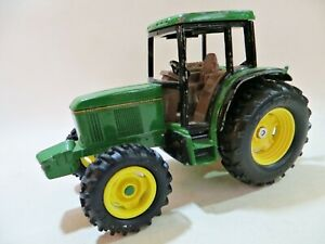 ERTL 1236GX 'JOHN DEERE 6200 FARM TRACTOR'. GREEN. 1:32. GOOD. VINTAGE.