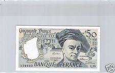 FRANCE 50 FRANCS QUENTIN DE LA TOUR 1992 Z.70 N° 1749159603