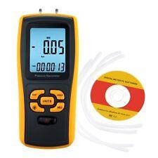 Digital Manometer Differential Luft Druck Spur 11 Einheiten w/ USB Schnittstelle