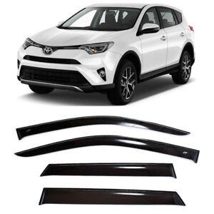 For Toyota Rav4 IV 2013-2018 Side Window Visors Sun Rain Guard Vent Deflectors