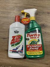 Turtle Wax Car Wax Express Shine(16oz) +Zip Wax Car Wash(16oz)! Great Buy!