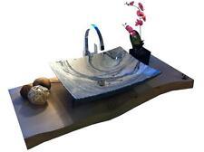 Waschbecken aus Marmor, Granit, Aufsatzbecken, Model Lima 51cm, Juparana