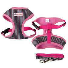 Nylon Pet Dog Harness and Lead Soft for Small Medium Large Dogs Walking S M L XL