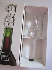 MIKASA CURVY LADY BOTTLE STOPPER Never used, still in original box.