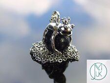 Blue Goldstone Frog Manmade Gemstone Pendant Necklace 50cm Healing Stone Chakra