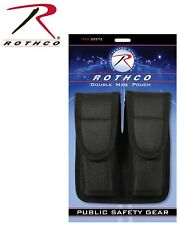 Military Police Nylon Double Pistol Magazine Mag Case Pouch Holder Rothco 20572