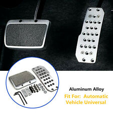 Aluminum Car Footplate Antiskid Pad Brake Transmission Non-Slip Automatic Trims