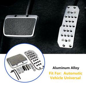 Aluminum Car Footplate Antiskid Pad Brake Transmission Non-Slip Automatic Trims