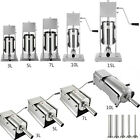 Best Sausage Stuffers - Sausage Meat Stuffer Filler Maker Machine with 5 Review