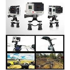 Bicycle Bike Handlebar Seatpost Pole Mount Holder For Go Pro GoPro Hero 2 3 3+ 4