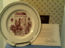 "New In Box Vtg Avon 20th Anniversary Plate- ""The First Avon Lady""-Free Shipping"
