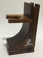 Sword Edge Shesham Wood Stand for Safety, Razor , Straight Razor Shaving - New