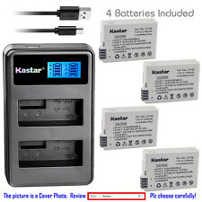 Kastar Battery LCD Dual Charger for Canon LP-E8 LC-E8 Canon EOS Rebel T5i Camera