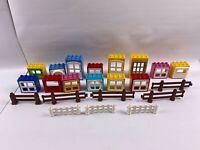 Lego Duplo House Bricks Windows Doors Roof Job Lot Bundle free delivery