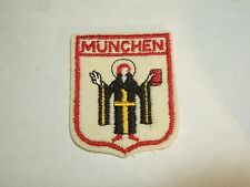 Munchen Coat of Arms German State of Bavaria Patch