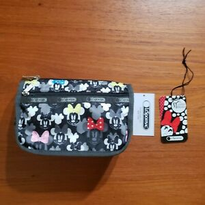LeSportsac Disney Minnie Mouse Travel Cosmetic Pouch New with Tag