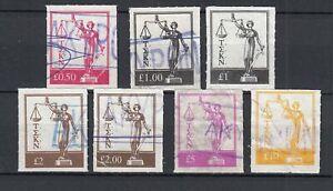 Cyprus Revenue Stamps OVERPRINTED