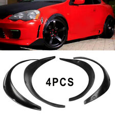 4x Universal Fender Flares Flexible Durable Polyurethane Car Body Exterior Kit