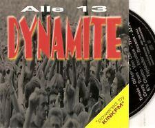 ALLE 13 DYNAMITE DUTCH PROMO CD INCUBUS MANIC STREET PREACHERS JJ72