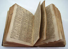VECCHIO DIZIONARIO NUGENT francese-inglese inglese-francese 1816 OLD DICTIONARY
