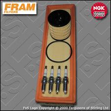 KIT di servizio PEUGEOT 206 1.4 16V FRAM OLIO FILTRI d'aria TAPPI (2003-2007)