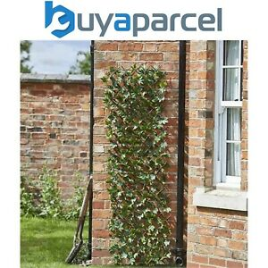 Smart Garden 60cm x 180cm Expanding Maple Leaf Trellis Wheelie Bin Screen