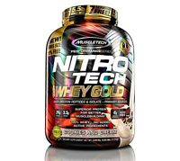 Muscletech Nitro Tech 100% WHEY GOLD Protein BONUS SIZE - 5.5 lbs CHOOSE FLAVOR