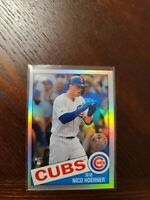2020 Topps Chrome NICO HOERNER 1985 Rookie RC Refractor #85TC-12 - Chicago Cubs