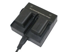Dual Charger + 2x Battery for JVC BN-VG114 BN-VG107 Everio GZ-MS GZ-HM Camcorder