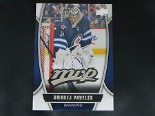 2013-14 Upper Deck UD MVP #16 Ondrej Pavelec Winnipeg Jets