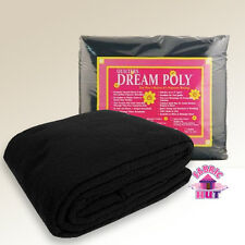"144228008 - Quilter's Dream Poly Black Mid Loft Throw 60"" x 60"" Quilt Batting"