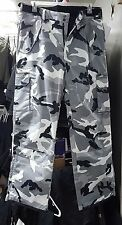Pulse Snow Camo Ski & Snowboard Pants, -Large Adult, lots of pockets & features