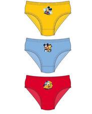 Sous-vêtements slips Disney pour garçon de 2 à 16 ans en 100% coton