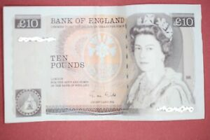 Florence Nightingale £10 Pound note. Gill. HN22 610691