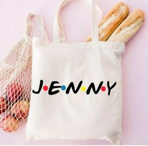 Friends TV Show Tote Shopping Bag - Personalised Name. Friends Gift
