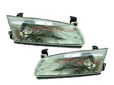 For 1997-1999 Toyota Camry CE LE XLE Head Lights Driver & Passenger Side LH+RH