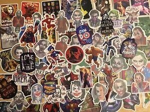 Marvel/DC Set Of 5 Vinyl Window/Laptop Stickers